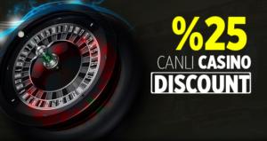 Casino Discount Bonusu