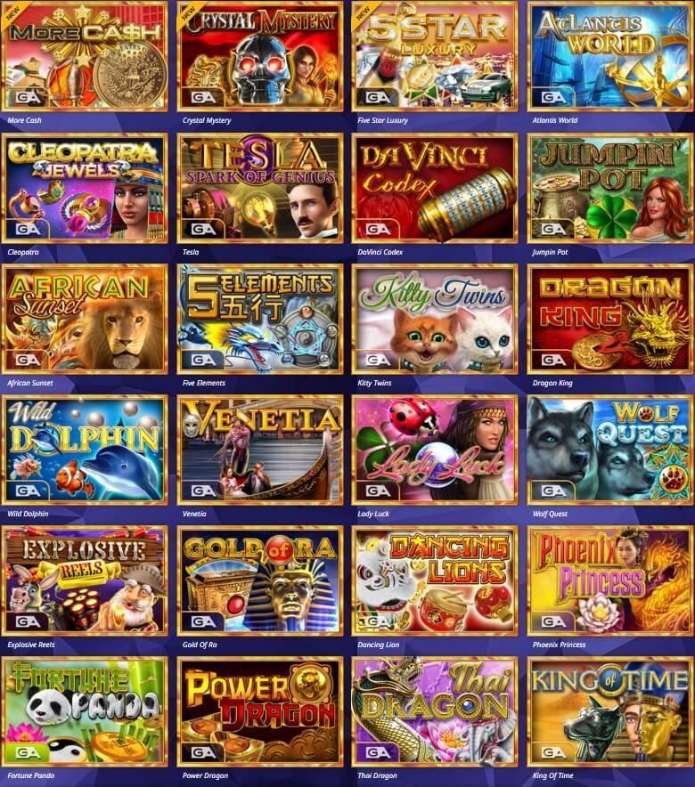 gameart casino slot oyunları