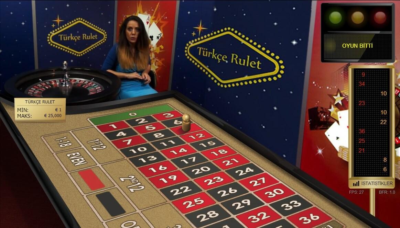 Türkçe Canlı Casinolar